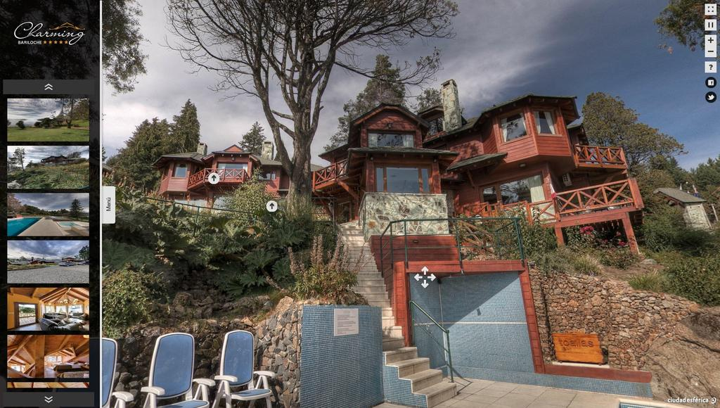 Hotel Charming Bariloche Tour virtual 360º
